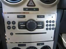D Opel Corsa D Chrom Rahmen für Radio - CD -  Edelstahl poliert