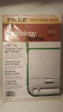 TECHNOLOGY REVIEW MAGAZINE AND INCLUDED ENERGY SPECIAL REPORT DECEMBER 2006 .