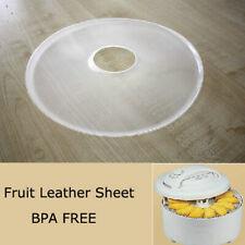 Kitchen Round Anti Leakage Food Dryer Roll-up Sheet Fruit Dehydrator Accessory