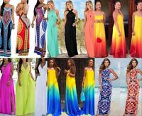 Women Sexy Boho Maxi Long Evening Party Beach Dress Lady Summer Sundress 5 Types
