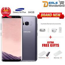 New Samsung Galaxy S8 Plus G955F 4G LTE Factory Unlocked 64G Orchid Grey 1Yr Wty