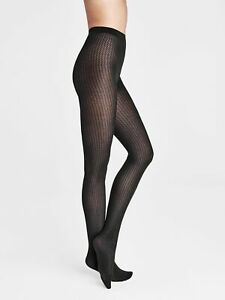 Wolford Sasha Tights Opaque Tights with Cotton Patterned