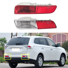 Left + Right For Mitsubishi Outlander 2013-2015 Rear Bumper Light Tail Lamp