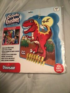 NEW Goodie Gusher Party Game Dinosaur/Dino Happy Birthday Safe Pinata       L@@K