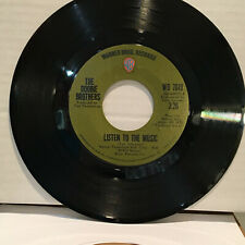 The Doobie Brothers Listen To The Music / Toulouse Street 45 RPM Vinyl VG+