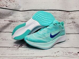 Nike Air Zoom Fly 3 Vaporweave Running AT8241 300 Blue Teal Green White Size 8