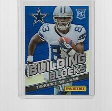 2013 PANINI FOOTBALL BUILDING BLOCKS PRIZM TERRANCE WILLIAMS ROOKIE #23