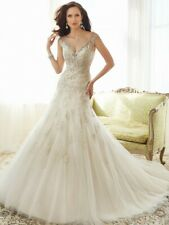 Sophia Tolli Bridal Gown Y11555 Caracara -  Ivory/Gold Size 8 NWT