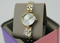 NEW AUTHENTIC FOSSIL CAILA MINI GOLD SILVER CRYSTALS WOMEN'S BQ7025 WATCH
