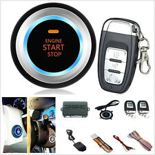 D7 Universal Car Security Alarm System Ignition Engine Start Push Button Remote