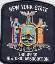 NEW YORK STATE TROOPERS HISTORIC ASSOCIATION POLICE SHOULDER PATCH NY