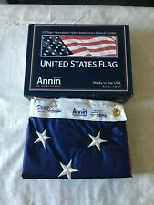 Annin American Flag 4x6 2220 Solar Max Nyl-Glo Made in the USA