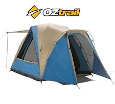 NEW Oztrail 4V BREEZEWAY Dome TENT 4 Man Person Camping HIKING Travel DTC-B4V-D