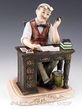 Capodimonte Pucci  Porcelain Figurine #1804 CPA ACCOUNTANT MAN Mint