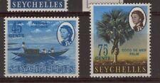 [ZZA-337]  -  Seychelles  - 1966  -  Ordinaria    -  **  MNH