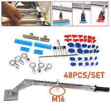 48PCS Auto Car Body Dent Repair Puller Tool Kits Glue Tabs Slide Tips Accessory