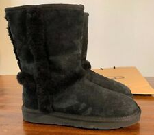 UGG CARTER 1005803/ WOMAN'S BOOTS AUTHENTIC BLACK WINTER BOOTS/ NEW/ SIZE 6