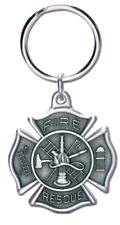 Firefighter Key ring in shape of Maltese Cross by Blackinton