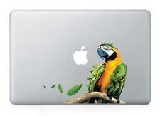 "Tropical Parrot Bird Vinyl Decal Sticker Macbook Air/Pro/Retina 13""15""17"" Laptop"