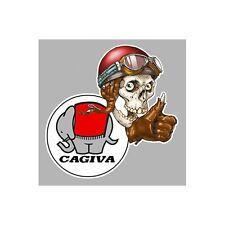 Sticker CAGIVA right Skull droit