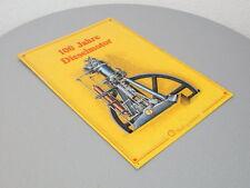 Shell Edition 1992 Blechschild 100 Jahre Diesel 25,5 x 36 cm limitiert Nr. 0329
