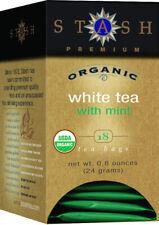 White Tea with Mint, Stash, 18 tea bag Organic