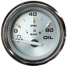 "FARIA KRONOS 2"" OIL PRESSURE GAUGE 80PSI GP7684"