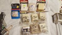 Lot of 6 Vintage SUTTLE SE-625AS4 52 RC Off-White Beige Modular Telephone Jacks