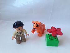 Lego Duplo Ville Tigerbaby - Zoo Tiger Baby + Wärterin - Set 5632 - TOP