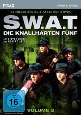 Die knallharten Fünf (S.W.A.T.) Vol. 3 * DVD Serie weitere 11 Folgen Pidax Neu