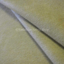 New Soft Drapery Upholstery Curtain Grade Chenille Textured Cream Colour Fabrics