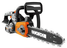"WORX WG380 40V Powershare 12"" Cordless Chainsaw with Auto-Tension"