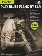 How To Play Blues Piano By Ear Sheet Music Book with Audio Learn Method