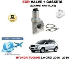 Pour Hyundai Tucson 2.0 Crdi 2006-2010 Neuf EGR Échappement Vanne Gaz + Joints