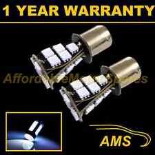 2X 382 1156 BA15s 207 P21W XENON WHITE 21 SMD LED REAR FOG LIGHT BULBS RF201702