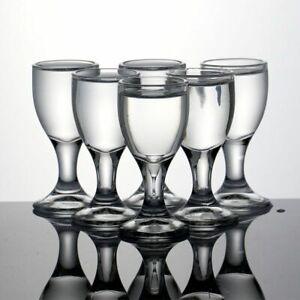 6pcs Lead Free Swallow Glass Whiskey Shot Glass Liquor Spirit Glasses Vodka 20ml