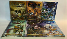 Disney Fantasy sequenza 1/6 collana Gli Astromondi di Topolino 7/12 albi fumetti