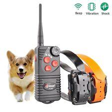 Aetertek 216D Waterproof Remote Control 2 Pet Dog Training Electric Shock Collar