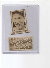 Lefty Clark 1936 Pittsburgh Sun-Telegraph Sport Stamp Card VERY RARE BV$120