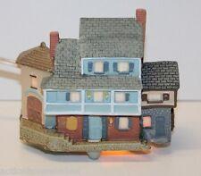 Avon - Early American Light-Up Village Collection - Mainhouse (1989) Box