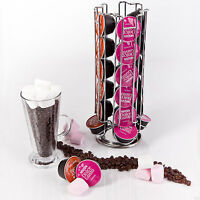 Dolce Gusto Revolving Rotating 24 Coffee Pod Capsule Tower Holder Stand Rack NEW