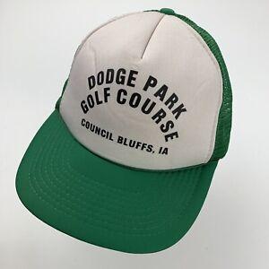 Dodge Park Golf Course Council Bluffs IA Trucker Cap Hat Snapback