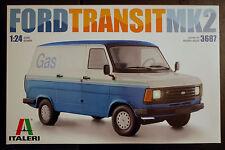 1978 Ford Transit Mk. 2, 1:24, Italeri 3687 wieder 2016 wieder neu