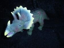 "New ListingToys R Us Maidenhead Triceratops Dinosaur Large Rubber Figure Toy 17"" Long"