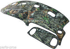 NEW Mossy Oak Camouflage Camo Dash Board Mat Cover / FOR: 98-01 DODGE RAM TRUCK