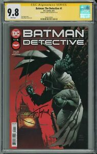 BATMAN THE DETECTIVE #1 CGC 9.8 SIGNED BY TOM TAYLOR