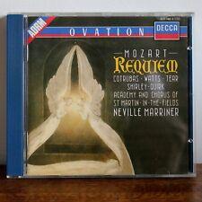 MOZART Requiem – Neville Marriner – Decca 1987 – 417 746-2 –made in West Germany