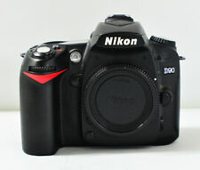 Nikon D D90 12.3MP Digital SLR Camera - Black (Body Only)