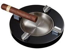 Visol Noche Lacquer Wooden Cigar Ashtray, Four Cigar Rests, VASH-722, New in Box