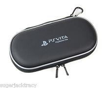 NERO EVA Rigida Valigetta per PS Vita PlayStation Vita Slim